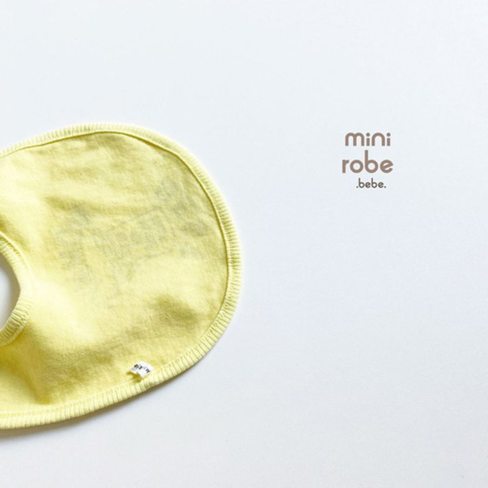 MINI ROBE - Korean Children Fashion - #Kfashion4kids - Mama Bib - 11