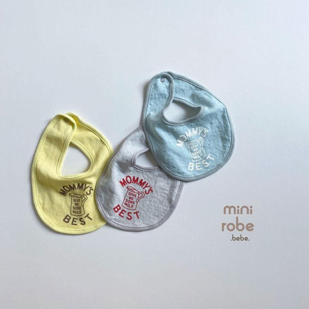 MINI ROBE - Korean Children Fashion - #Kfashion4kids - Mama Bib - 12