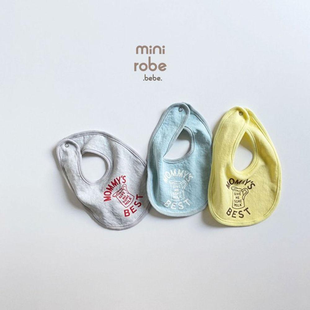 MINI ROBE - Korean Children Fashion - #Kfashion4kids - Mama Bib - 2