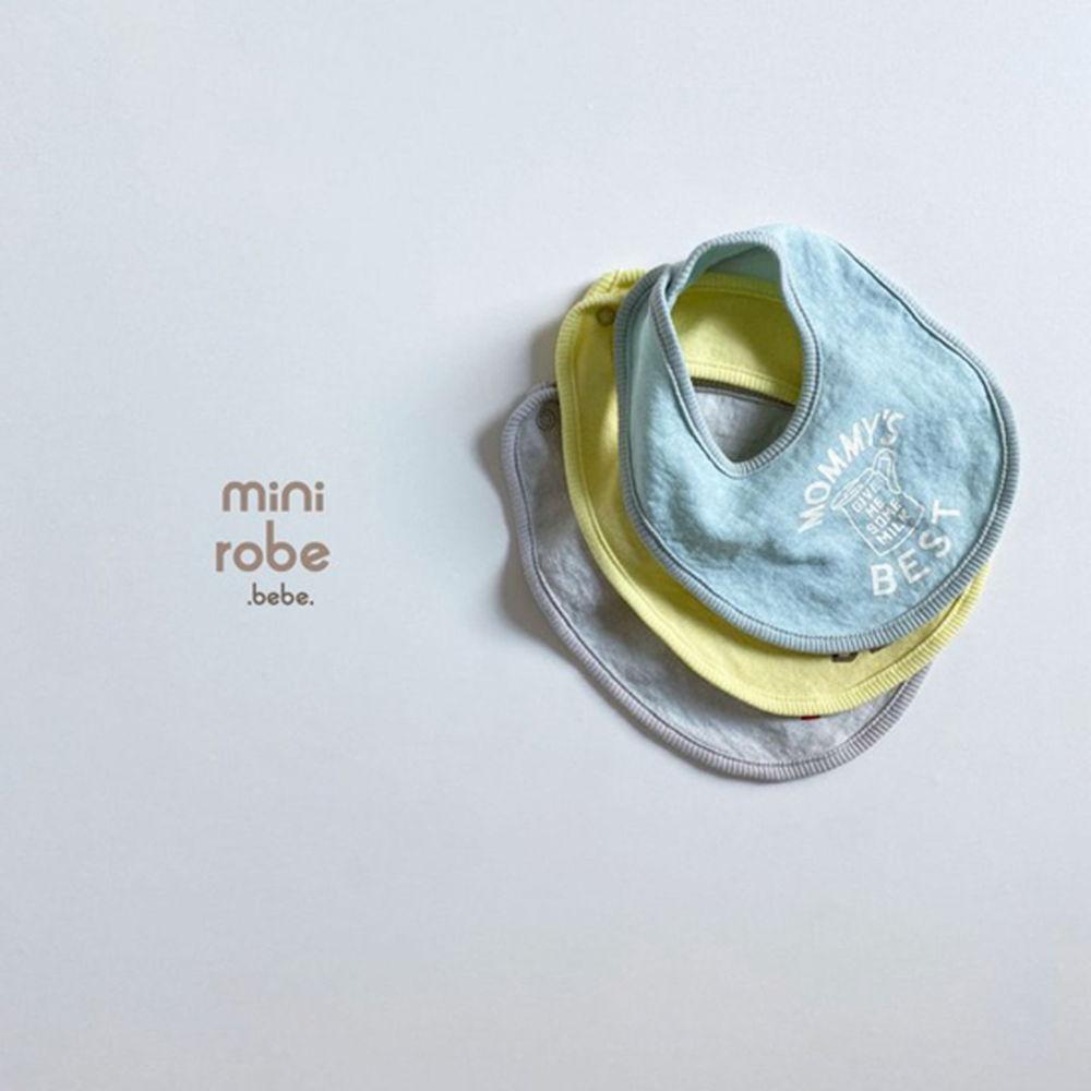MINI ROBE - Korean Children Fashion - #Kfashion4kids - Mama Bib - 5