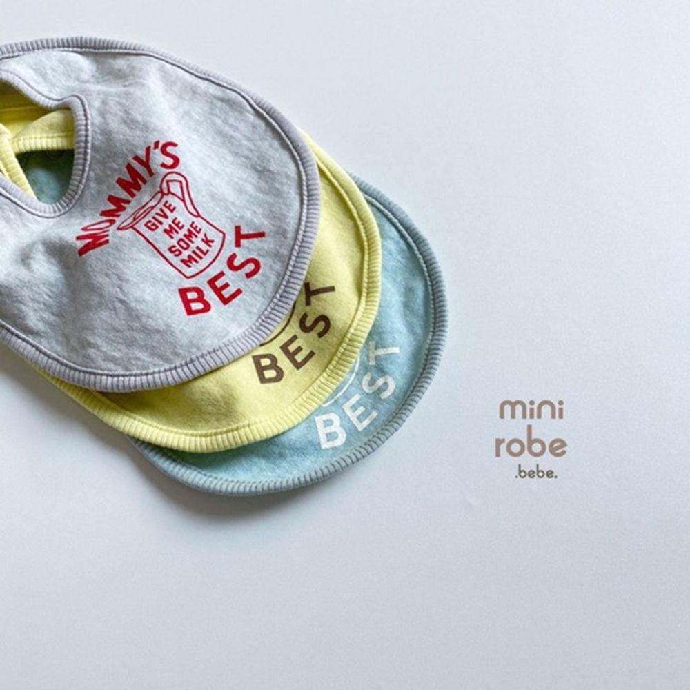 MINI ROBE - Korean Children Fashion - #Kfashion4kids - Mama Bib - 7