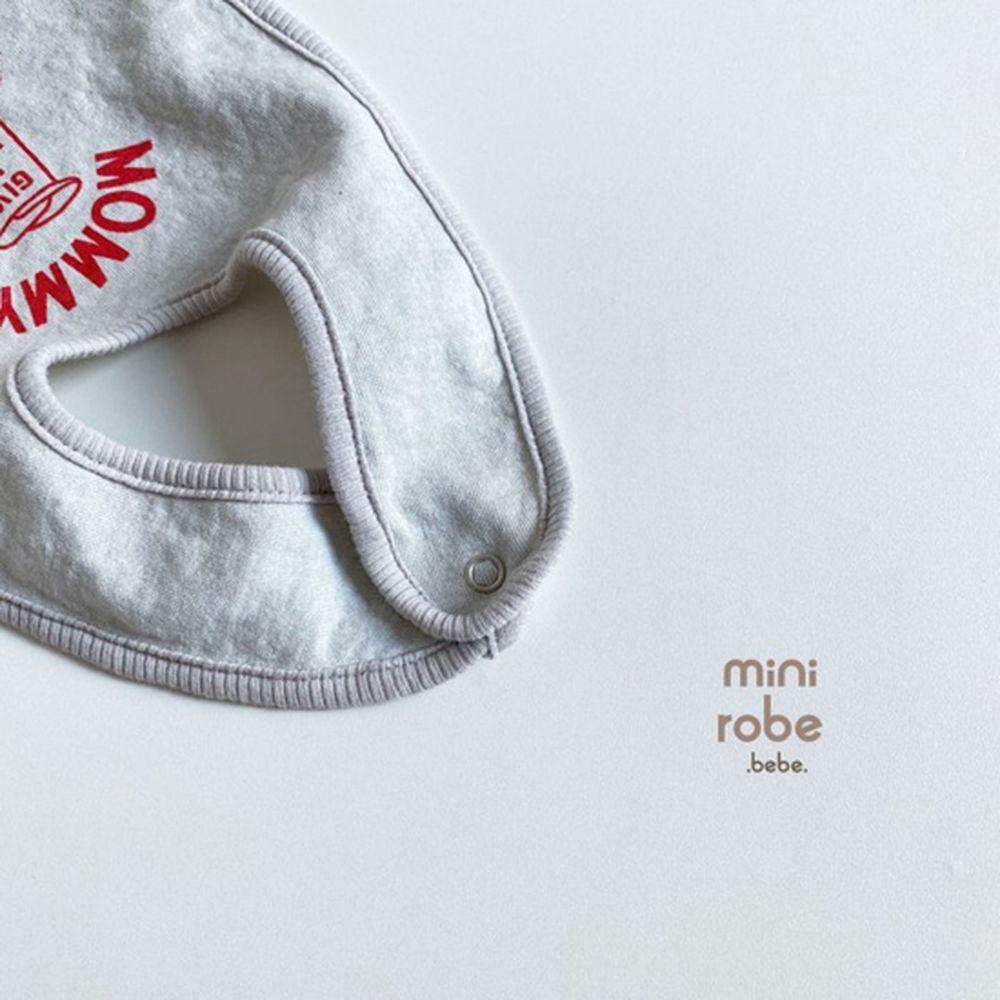 MINI ROBE - Korean Children Fashion - #Kfashion4kids - Mama Bib - 8