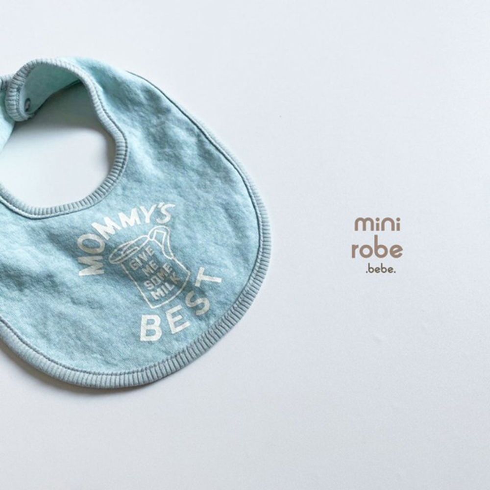 MINI ROBE - Korean Children Fashion - #Kfashion4kids - Mama Bib - 9