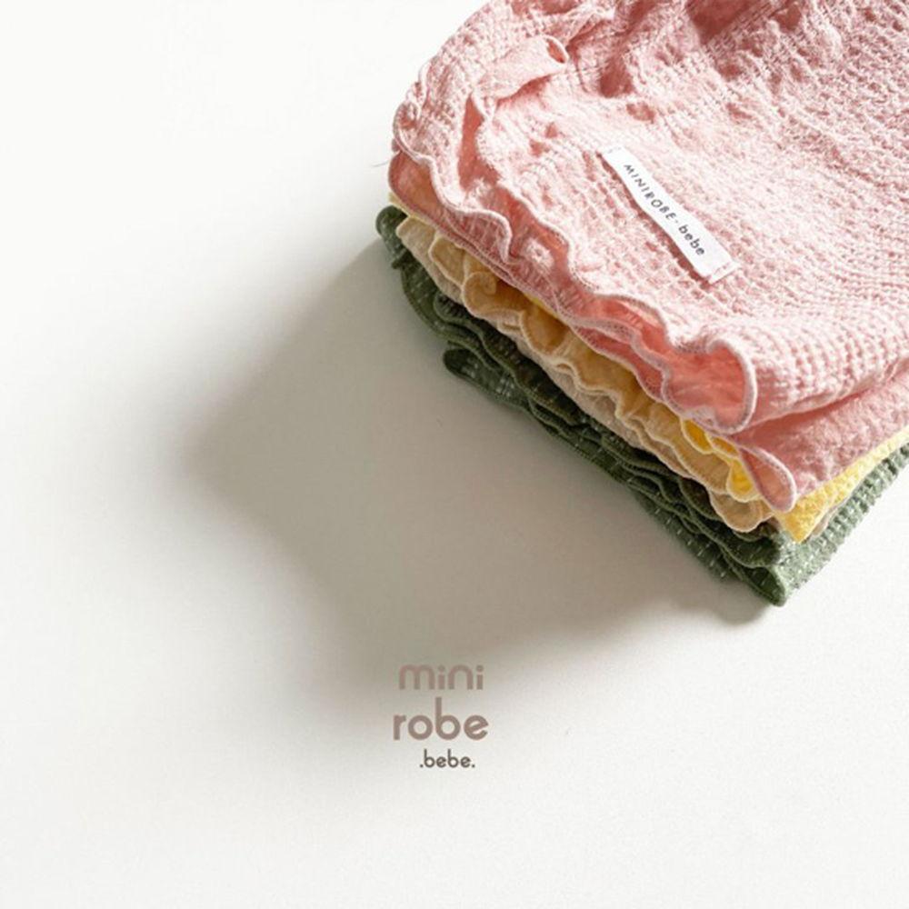 MINI ROBE - Korean Children Fashion - #Kfashion4kids - Embroidery Scarf