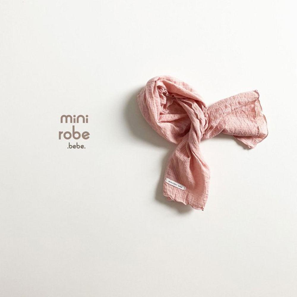 MINI ROBE - Korean Children Fashion - #Kfashion4kids - Embroidery Scarf - 2