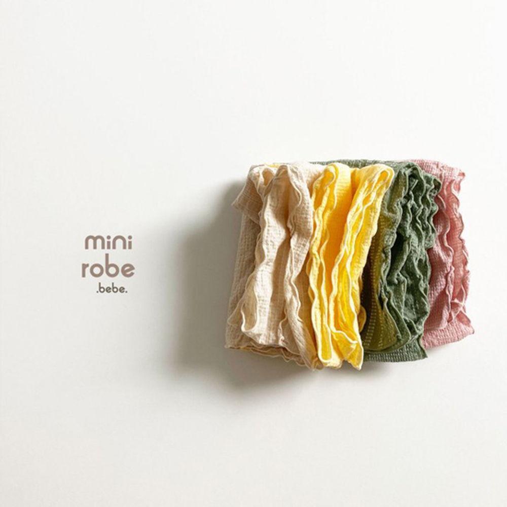 MINI ROBE - Korean Children Fashion - #Kfashion4kids - Embroidery Scarf - 5