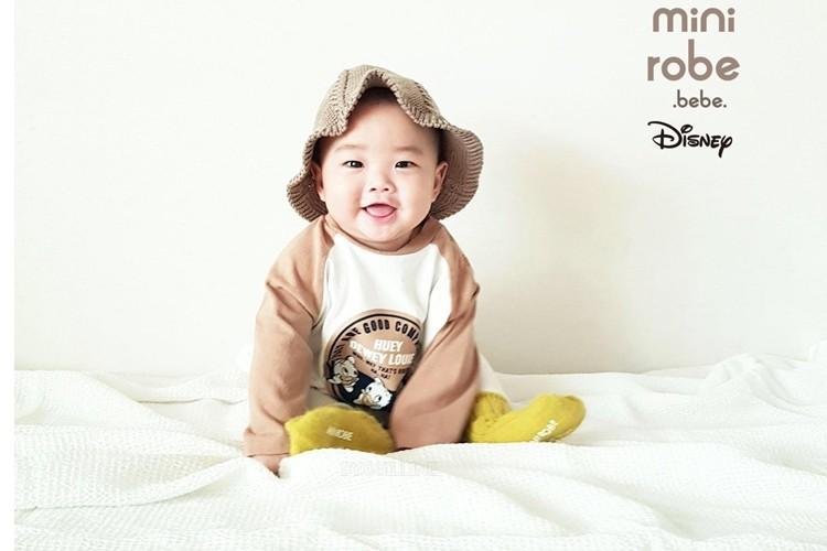 MINI ROBE - BRAND - Korean Children Fashion - #Kfashion4kids - Duck Raglan Bodysuit