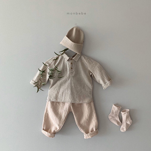 MONBEBE - Korean Children Fashion - #Kfashion4kids - Natural Wide Pants - 11
