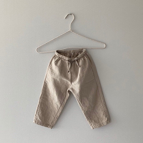 MONBEBE - Korean Children Fashion - #Kfashion4kids - Natural Wide Pants - 7