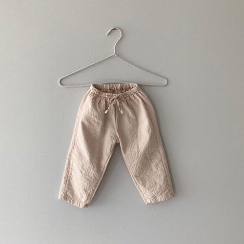 MONBEBE - Korean Children Fashion - #Kfashion4kids - Natural Wide Pants - 8