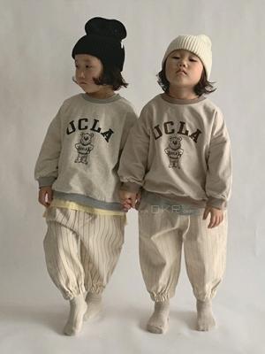 PAUL & J - BRAND - Korean Children Fashion - #Kfashion4kids - Bear MTM
