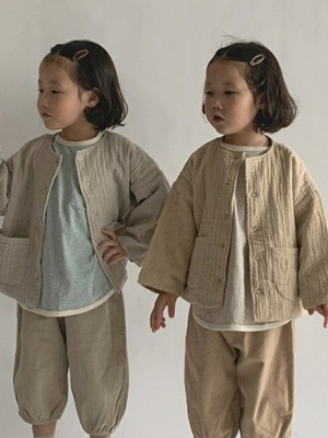 PAUL & J - BRAND - Korean Children Fashion - #Kfashion4kids - Bongbong Jacket