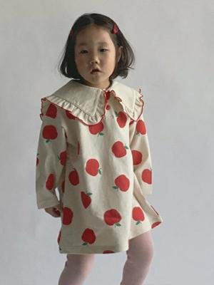 PAUL & J - BRAND - Korean Children Fashion - #Kfashion4kids - Apple One-piece
