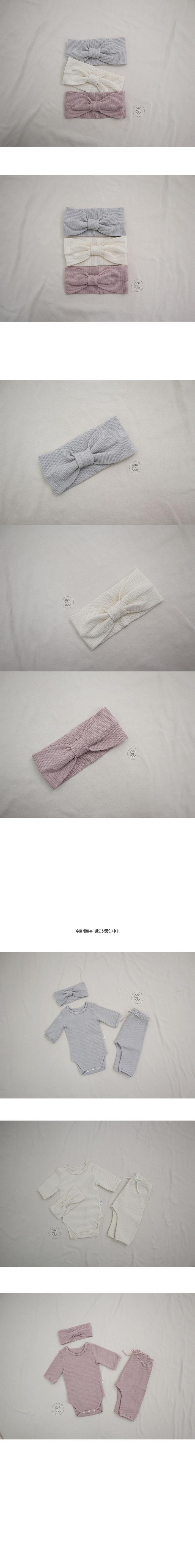 PEEKABOO - Korean Children Fashion - #Kfashion4kids - Creamy Hairband