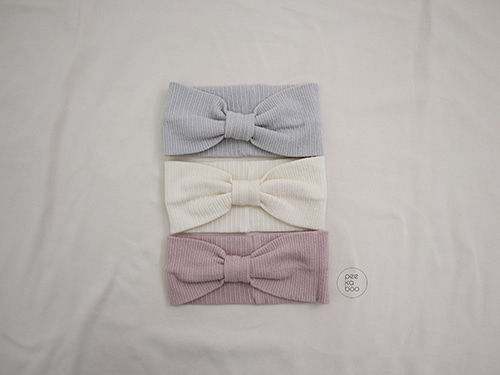 PEEKABOO - BRAND - Korean Children Fashion - #Kfashion4kids - Creamy Hairband