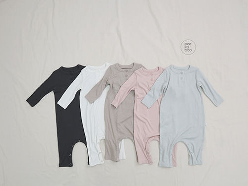 PEEKABOO - BRAND - Korean Children Fashion - #Kfashion4kids - Soft Rayon Bodysuit
