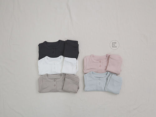PEEKABOO - BRAND - Korean Children Fashion - #Kfashion4kids - Soft Rayon Easywear