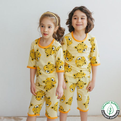 PUCO - BRAND - Korean Children Fashion - #Kfashion4kids - Curious Cheetah Easywear