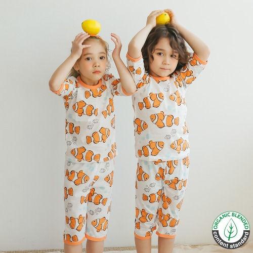 PUCO - BRAND - Korean Children Fashion - #Kfashion4kids - Clown Fish Easywear