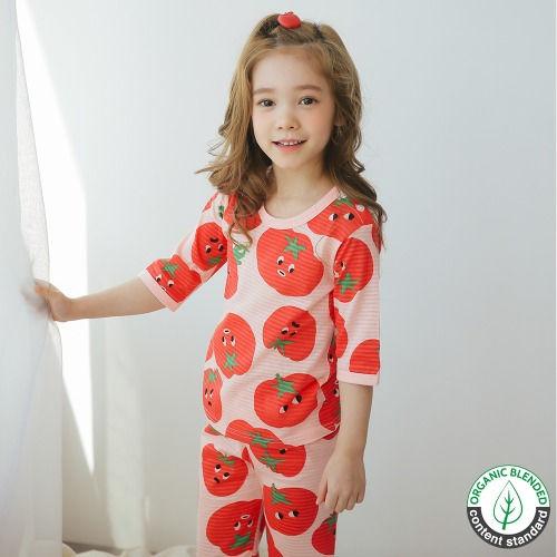 PUCO - BRAND - Korean Children Fashion - #Kfashion4kids - Tomato Sweet Easywear