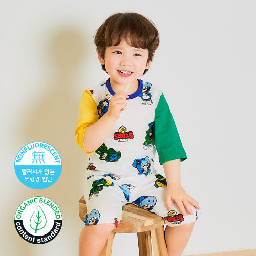 TTASOM - BRAND - Korean Children Fashion - #Kfashion4kids - Stars Easywear