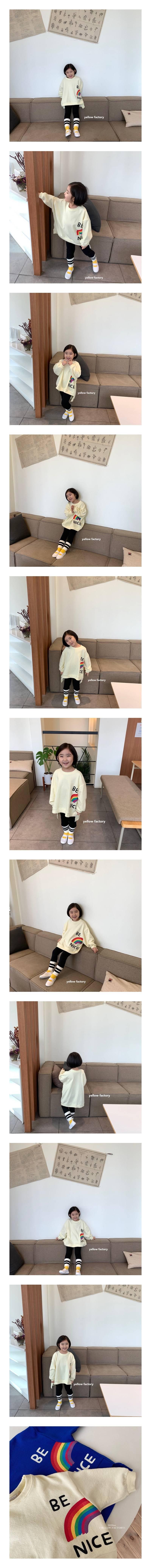 YELLOW FACTORY - Korean Children Fashion - #Kfashion4kids - Be Nice MTM