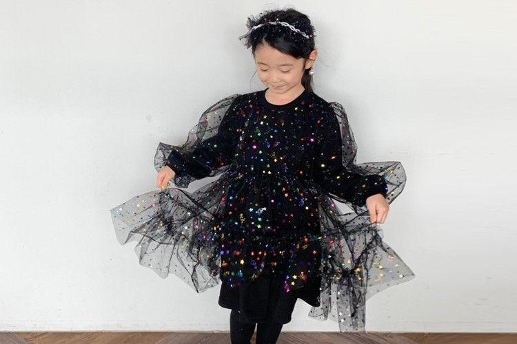 YELLOW FACTORY - BRAND - Korean Children Fashion - #Kfashion4kids - Star One-piece