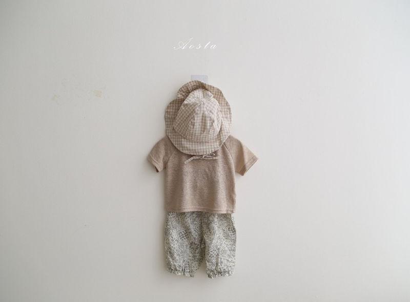 AOSTA - Korean Children Fashion - #Kfashion4kids - Linen Raglan Tee - 10