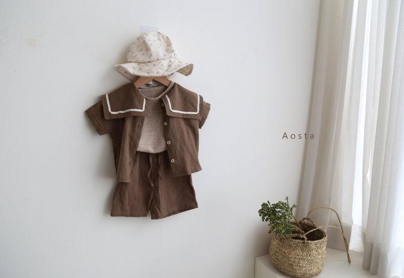 AOSTA - Korean Children Fashion - #Kfashion4kids - Linen Raglan Tee - 11