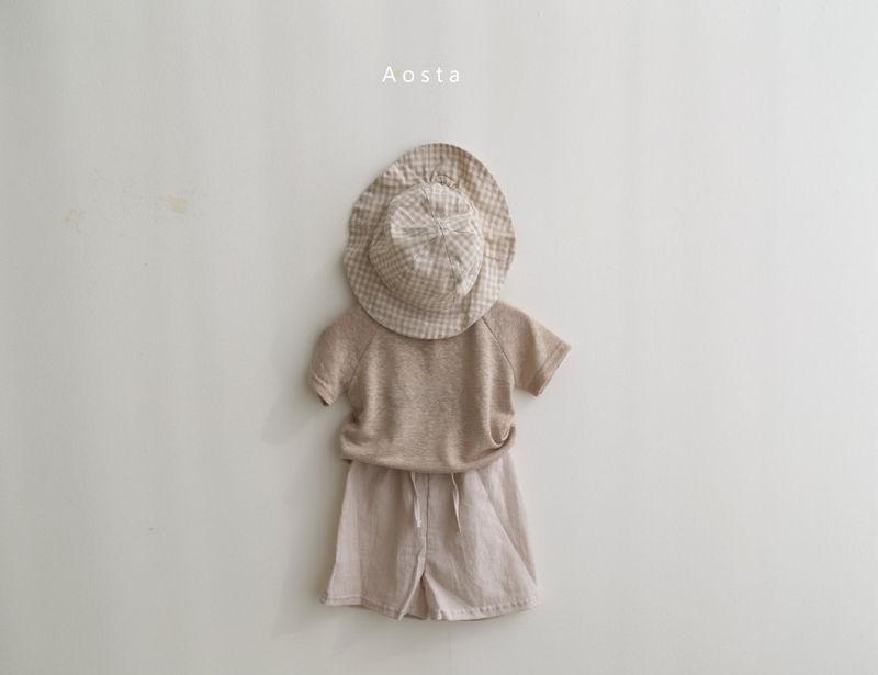 AOSTA - Korean Children Fashion - #Kfashion4kids - Linen Raglan Tee - 9