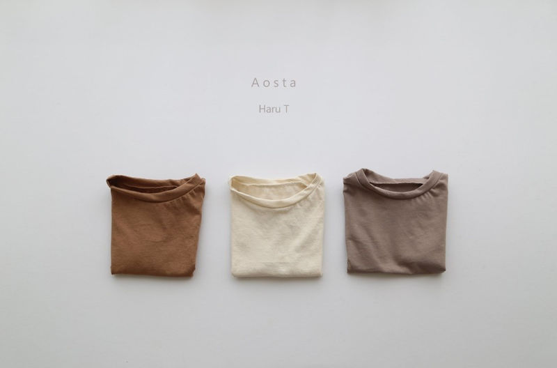 AOSTA - Korean Children Fashion - #Kfashion4kids - Haru Tee - 7