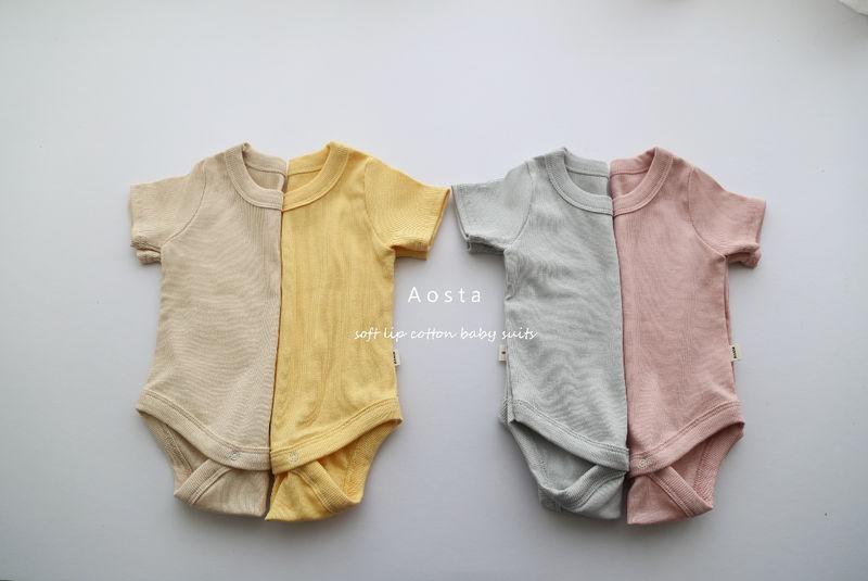 AOSTA - Korean Children Fashion - #Kfashion4kids - Marmar Bodysuit