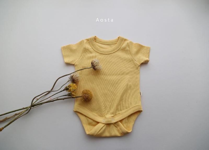 AOSTA - Korean Children Fashion - #Kfashion4kids - Marmar Bodysuit - 12