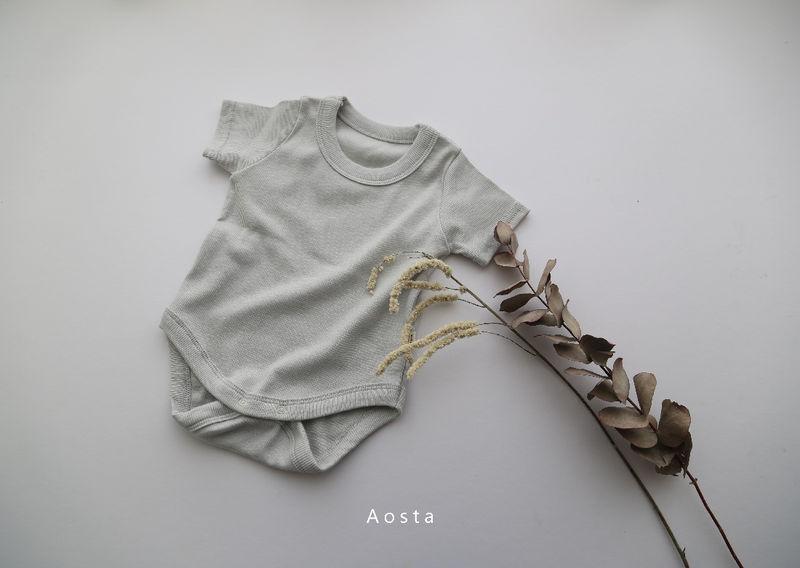 AOSTA - Korean Children Fashion - #Kfashion4kids - Marmar Bodysuit - 6