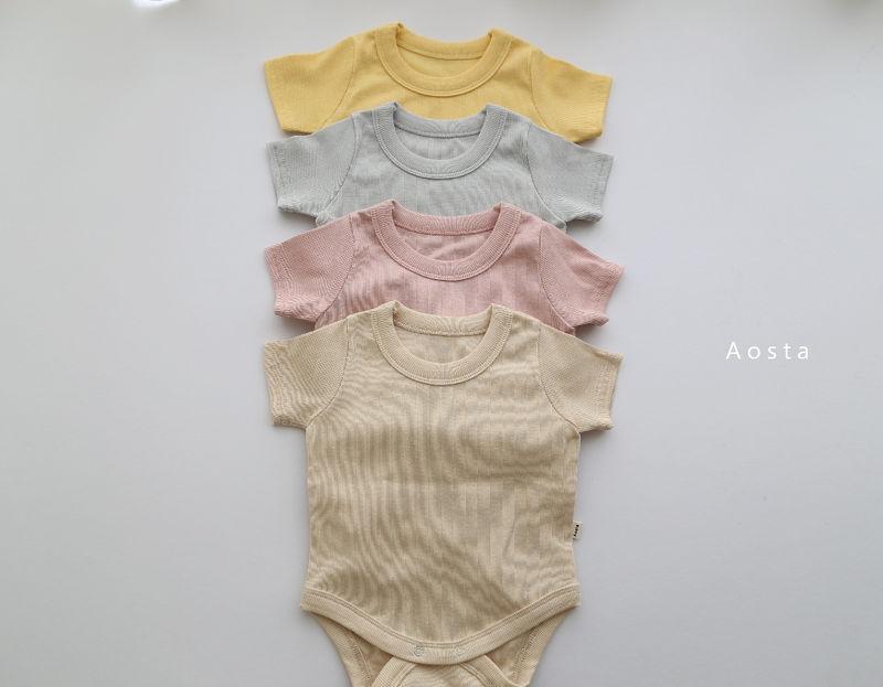 AOSTA - Korean Children Fashion - #Kfashion4kids - Marmar Bodysuit - 7