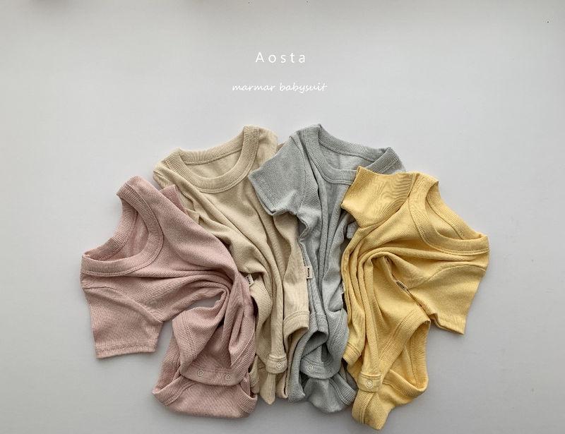 AOSTA - BRAND - Korean Children Fashion - #Kfashion4kids - Marmar Bodysuit
