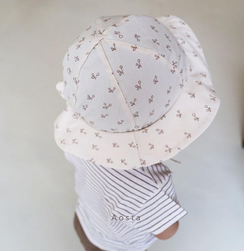 AOSTA - Korean Children Fashion - #Kfashion4kids - Linen Bucket Hat - 10