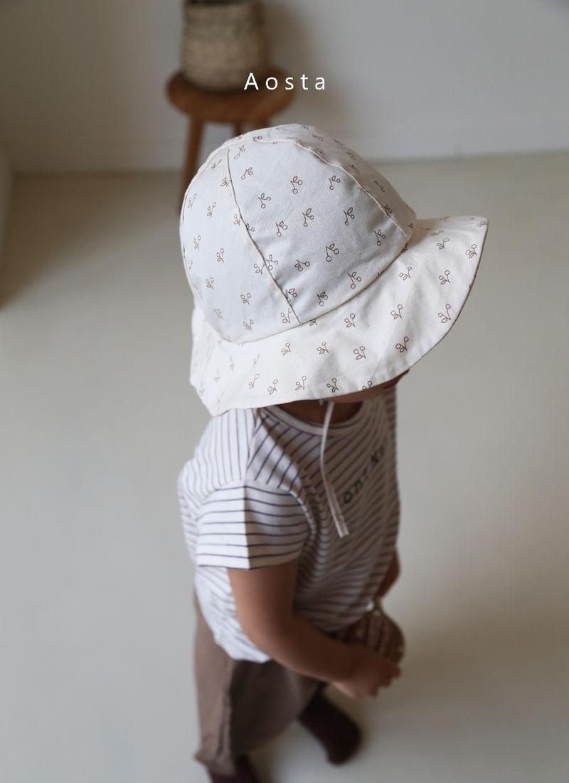 AOSTA - Korean Children Fashion - #Kfashion4kids - Linen Bucket Hat - 11