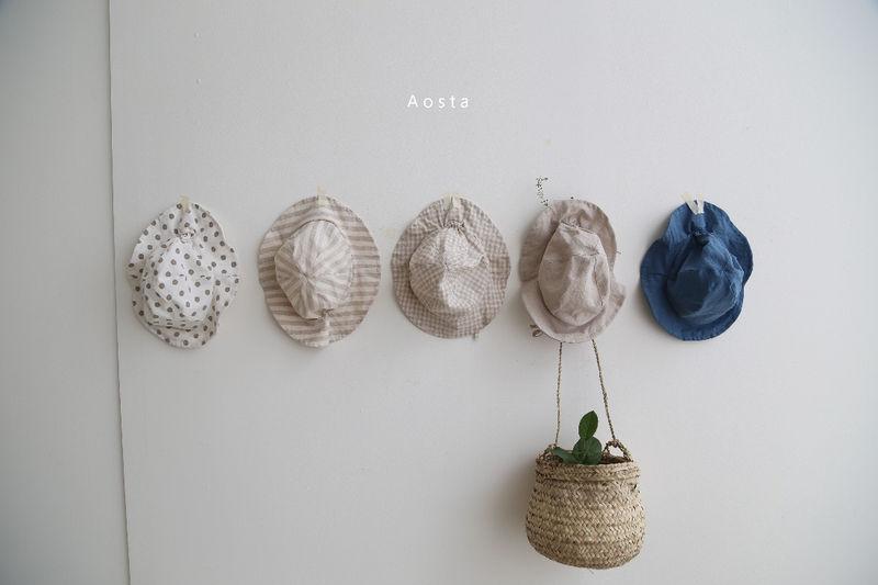 AOSTA - Korean Children Fashion - #Kfashion4kids - Linen Bucket Hat - 4