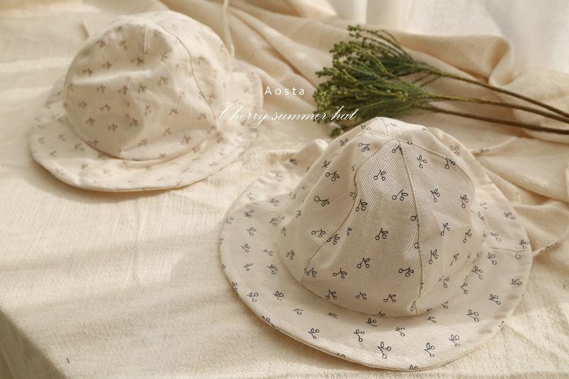 AOSTA - Korean Children Fashion - #Kfashion4kids - Linen Bucket Hat - 6