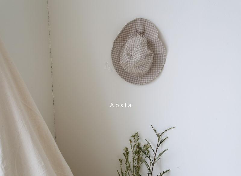 AOSTA - Korean Children Fashion - #Kfashion4kids - Linen Bucket Hat - 8