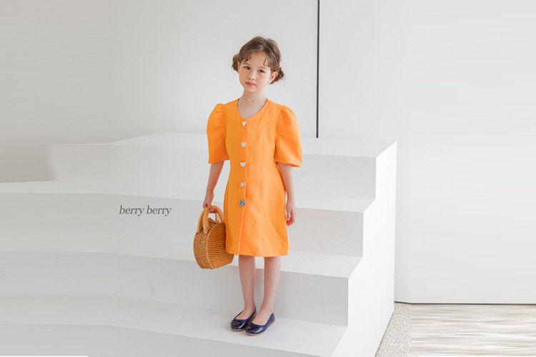 BERRY BERRY - BRAND - Korean Children Fashion - #Kfashion4kids - Jewelry One-piece