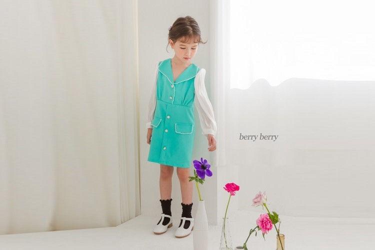 BERRY BERRY - BRAND - Korean Children Fashion - #Kfashion4kids - Sugar One-piece