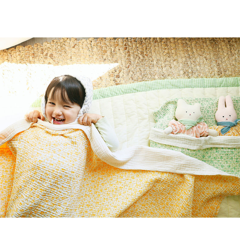 BIEN A BIEN - Korean Children Fashion - #Kfashion4kids - Baby Floral Blanket