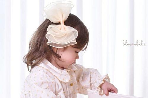 BLOOMBEBE - BRAND - Korean Children Fashion - #Kfashion4kids - Sugar Ribbon Hairpin