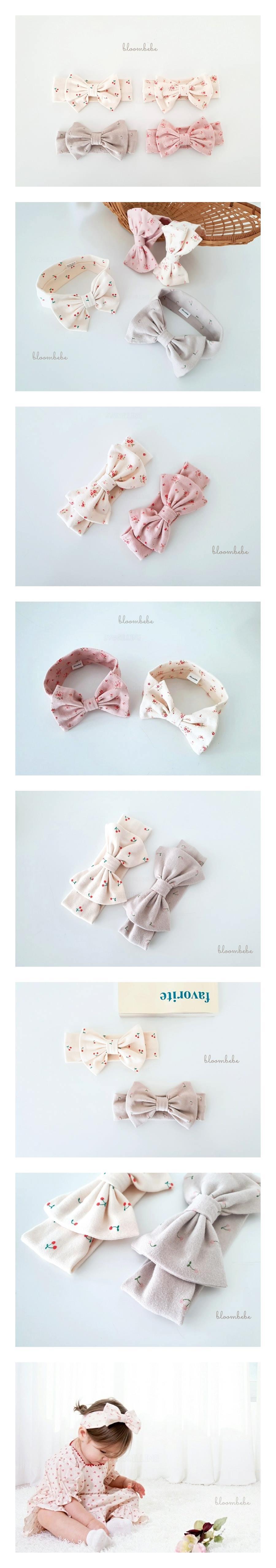 BLOOMBEBE - Korean Children Fashion - #Kfashion4kids - Ribbon Hairband