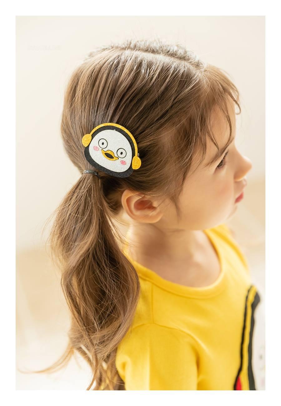 COCO RIBBON - Korean Children Fashion - #Kfashion4kids - Penguin Hairpin