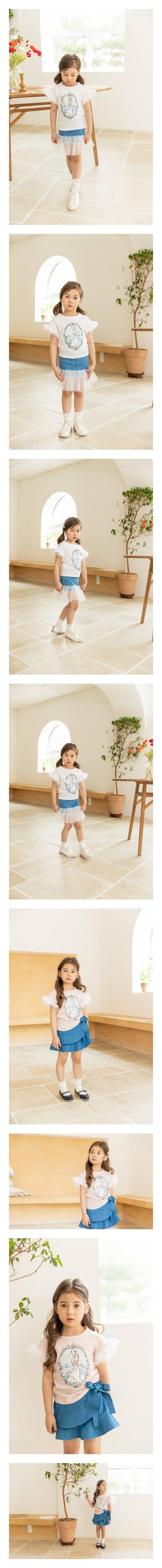 COCO RIBBON - Korean Children Fashion - #Kfashion4kids - Rose Alice Tee