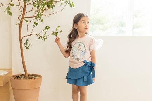 COCO RIBBON - BRAND - Korean Children Fashion - #Kfashion4kids - Rose Alice Tee