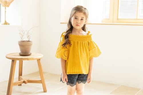 COCO RIBBON - BRAND - Korean Children Fashion - #Kfashion4kids - Dingding Blouse